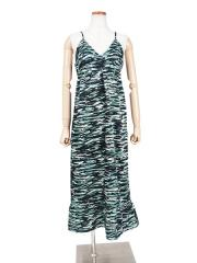 TIGER CAMO SLIP DRESS