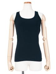 Silk Cotton Rib Tank Top