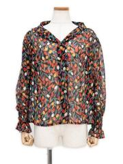 TULIP PRINT BLOUSE【OUTLET/50%OFF】