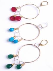 Agapantha HOOPS Gold