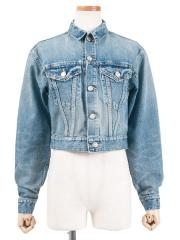 SHORT DENIM JACKET (WASH)