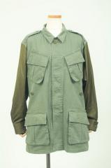 MILITARY BICOLOR JACKET