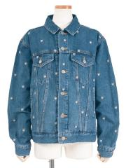 GRUNGE CAT BIG DENIM JACKET