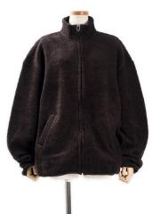 Wool Boa Zip Jacket