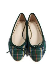 CHECK BALLET FLAT【OUTLET/50%OFF】