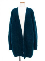 stretch superkid mohair cardigan