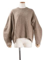 boiled camel sweater【OUTLET/50%OFF】