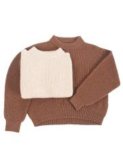 british wool & silk blend sweater