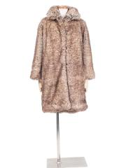 EMERSONFLY Big Faux Fur Coat